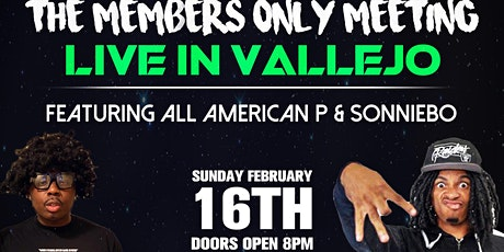 The Members Only Meeting LIVE feat. Sonniebo & All-American P tickets