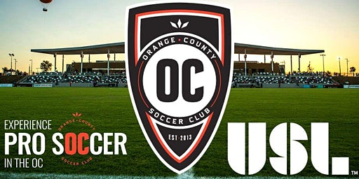 Orange County Soccer Club Game