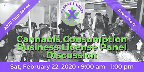 Cannabis Consumption Business License Panel Discussion tickets