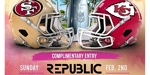 Super Bowl Watch Party At Republic