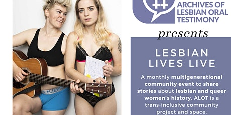 Lesbian Lives Live: Anais West and Sara Vickruck tickets