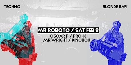 MR ROBOTO - tickets