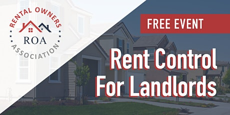 Rent Control 2020 - New Rules for Landlords tickets