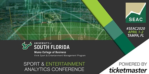 University of South Florida Sport & Entertainment Analytics Conference 2020