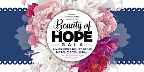 Beauty of Hope Gala tickets