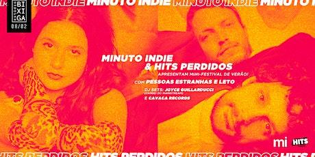 08/02 - MINUTO INDIE E HITS PERDIDOS NO ESTÚDIO BIXIGA ingressos
