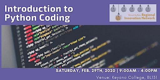 Intro to Python Coding