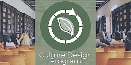 Culture Design Program tickets