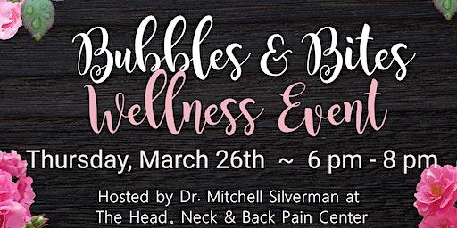 Bubbles & Bites Wellness Event