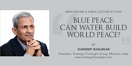 Blue Peace: Can Water Build World Peace? tickets