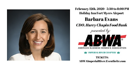 February 12th - Barbara Evans, CDO of Harry Chapin Food Bank  tickets