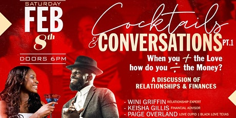 Cocktails & Conversations | 2.8 tickets