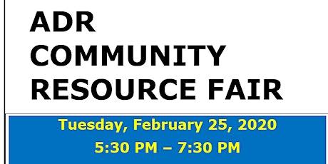 ADR Community Resource Fair tickets