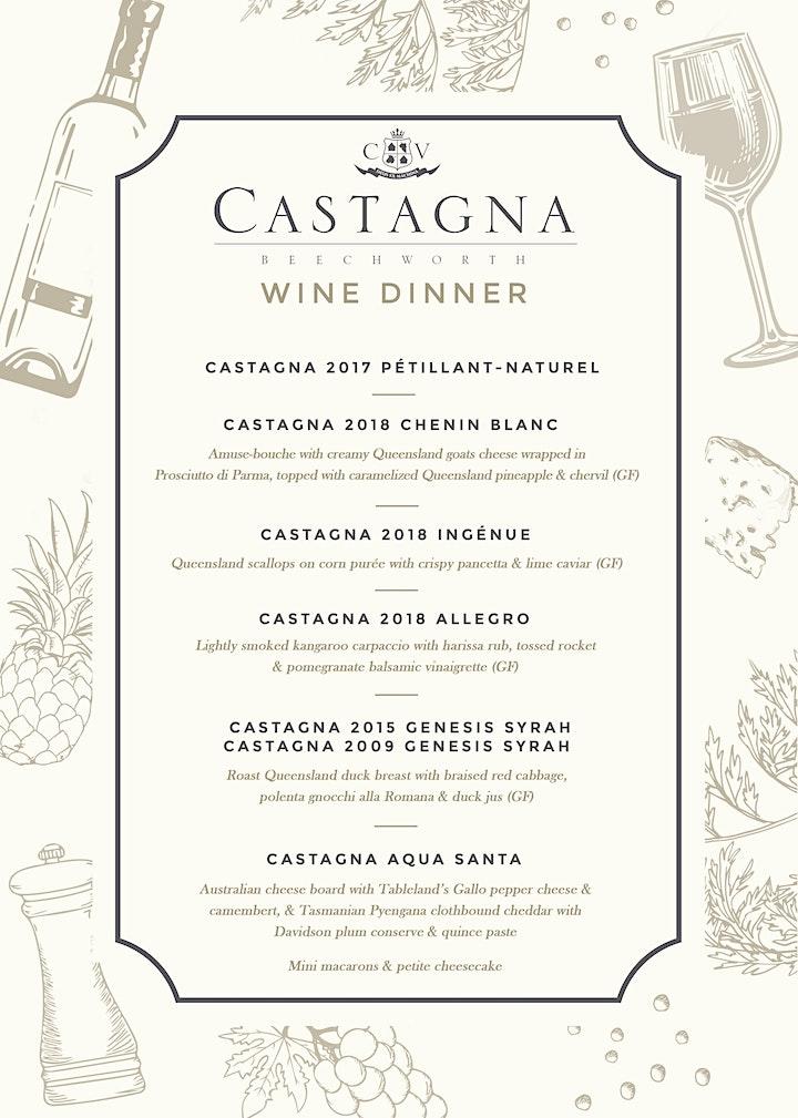 Castagna Wine Dinner With Julian Castagna at Harbourside Bar & Kitchen image