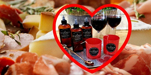 Valentine's Day Date Night: Candles & Charcuterie