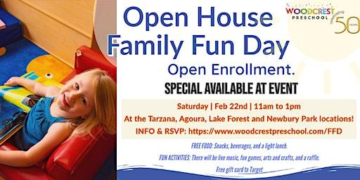 Woodcrest Preschool Open House Family Fun Day Newbury Park