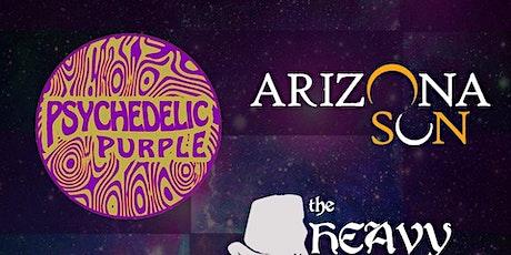 Arizona Sun, Psychedelic Purple, Space Cruizers, Carolee Beck, Heavy Bucket tickets