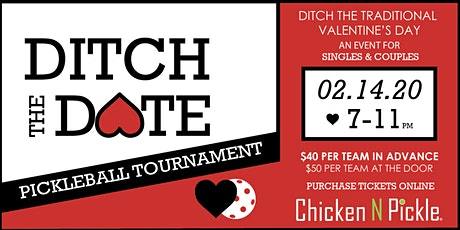Ditch The Date Pickleball Tournament tickets