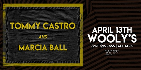 Tommy Castro & Marcia Ball tickets