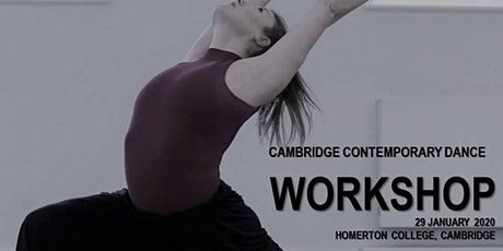 Workshop with Cambridge Contemporary Dance tickets