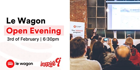 Le Wagon Open Evening: come and meet the team  tickets
