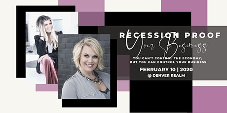 Recession Proof Your Business Workshop and Photoshoot tickets