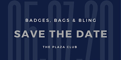 2nd  Annual Badges, Bags and Bling! tickets