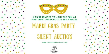 Mardi Gras Party + Silent Auction tickets