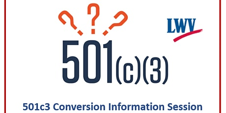 CANCELLED--501c3h Conversion Information tickets