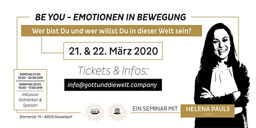 BE YOU - Emotionen in Bewegung  2-Tages Workshop