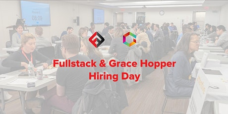Fullstack Academy & Grace Hopper Program Hiring Day tickets