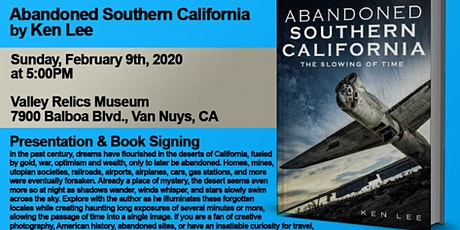 Abandoned Southern California - Presentation and Book Signing tickets