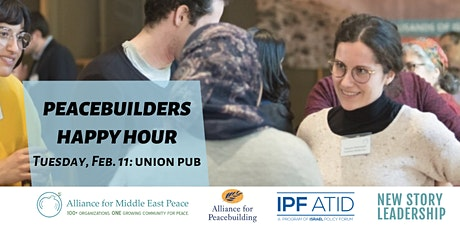 Peacebuilders Happy Hour: Advancing Partnership Fund for Peace tickets