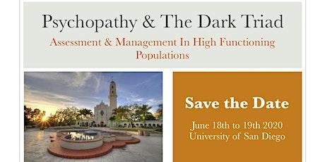 Psychopathy and the Dark Triad Symposium tickets