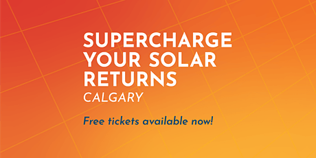 Supercharge Your Solar Returns - Combining Rooftop Solar with an Electric tickets