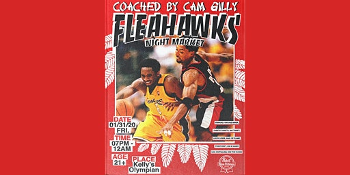 Fleahawks Night Market: Coached by Cam Gilly