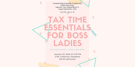 TAX TIME ESSENTIALS FOR BOSS LADIES