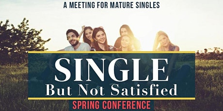 Mature Singles Conference - Spring 2020 tickets