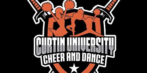 Curtin University Cheer & Dance Pre Season Training