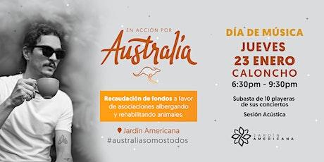 En Acción por Australia - CALONCHO boletos