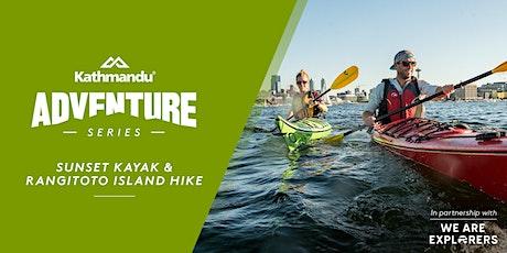 Adventure Series: Sunset Kayak & Rangitoto Island Hike // AKL tickets