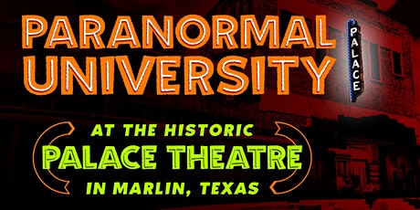 Paranormal University in the 95-Year-Old Palace Theatre tickets