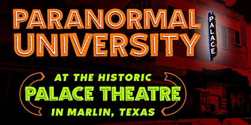 Paranormal University in the 95-Year-Old Palace Theatre