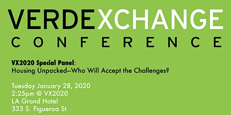 VX2020 Special Panel: Housing Unpacked—Who Will Accept the Challenges? tickets