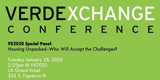 VX2020 Special Panel: Housing Unpacked—Who Will Accept the Challenges?