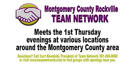 Montgomery County Rockville Team Network Marty tickets