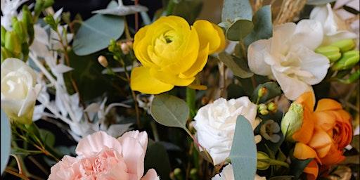 Valentine's Floral Workshop : Hand-Tied Bouquet