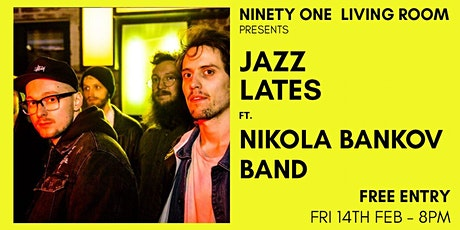 Jazz Lates: Nikola Bankov Band tickets