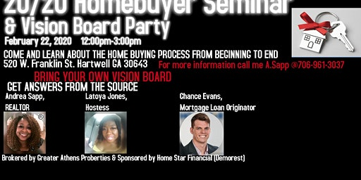 20/20 Homebuyer Vision Party