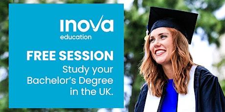 Estudia tu carrera en el Reino Unido con Kaplan International Pathways - sesión informativa, también en línea tickets